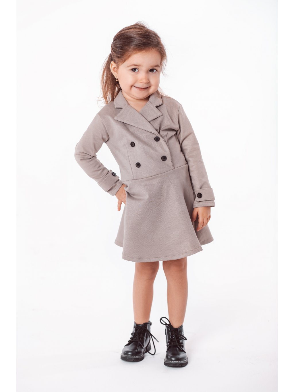 Dětské trench coat Brit šaty