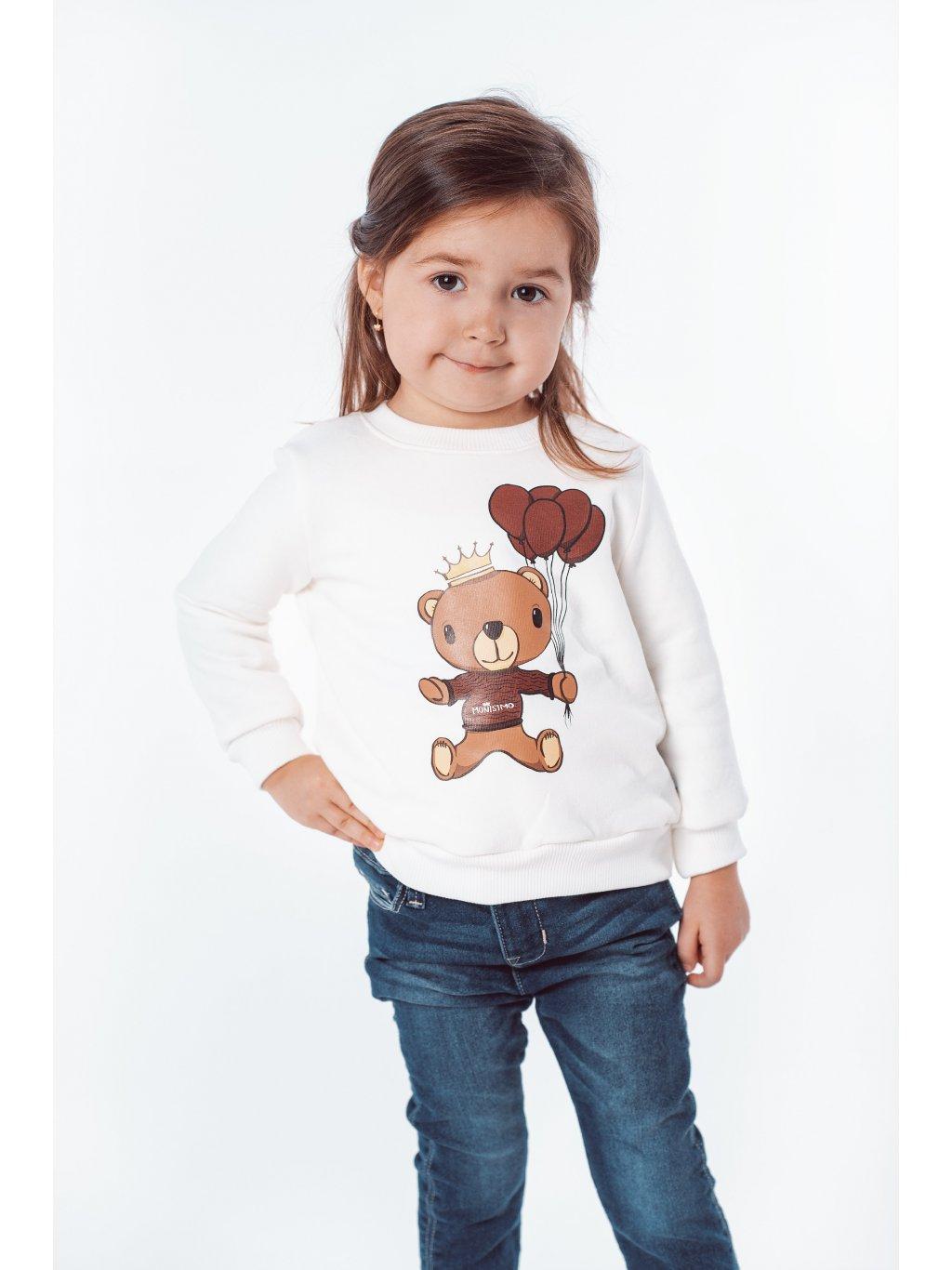 Dětská mikina s potiskem TEDDY