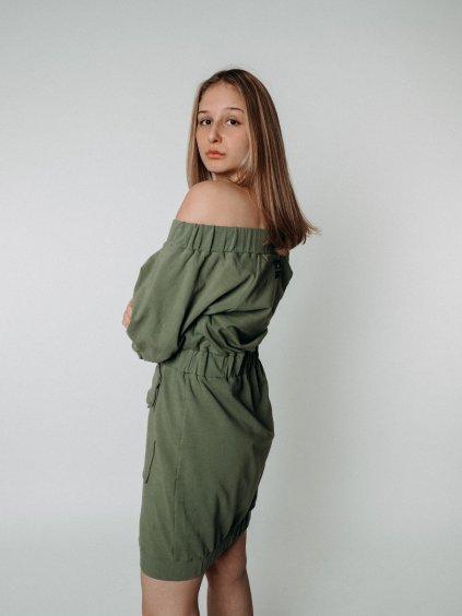 Šaty DOCA green