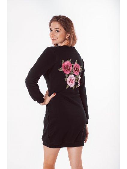 Dámské mikinové šaty FLORA
