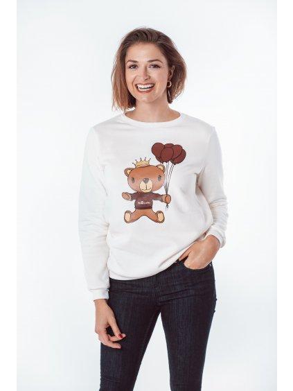 Dámská mikina s potiskem TEDDY