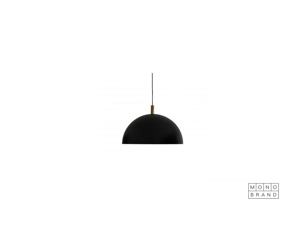 STUDIO LAMP SERIES PENDANT (Barva - varianty Ø50cm, Černá, Materiályy Mosaz, Ocel, Velikostt XL)
