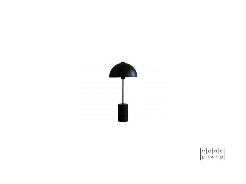 STUDIO LAMP SERIES TABLE (Barva - varianty Černá, Materiályy Ocel s mosazem)