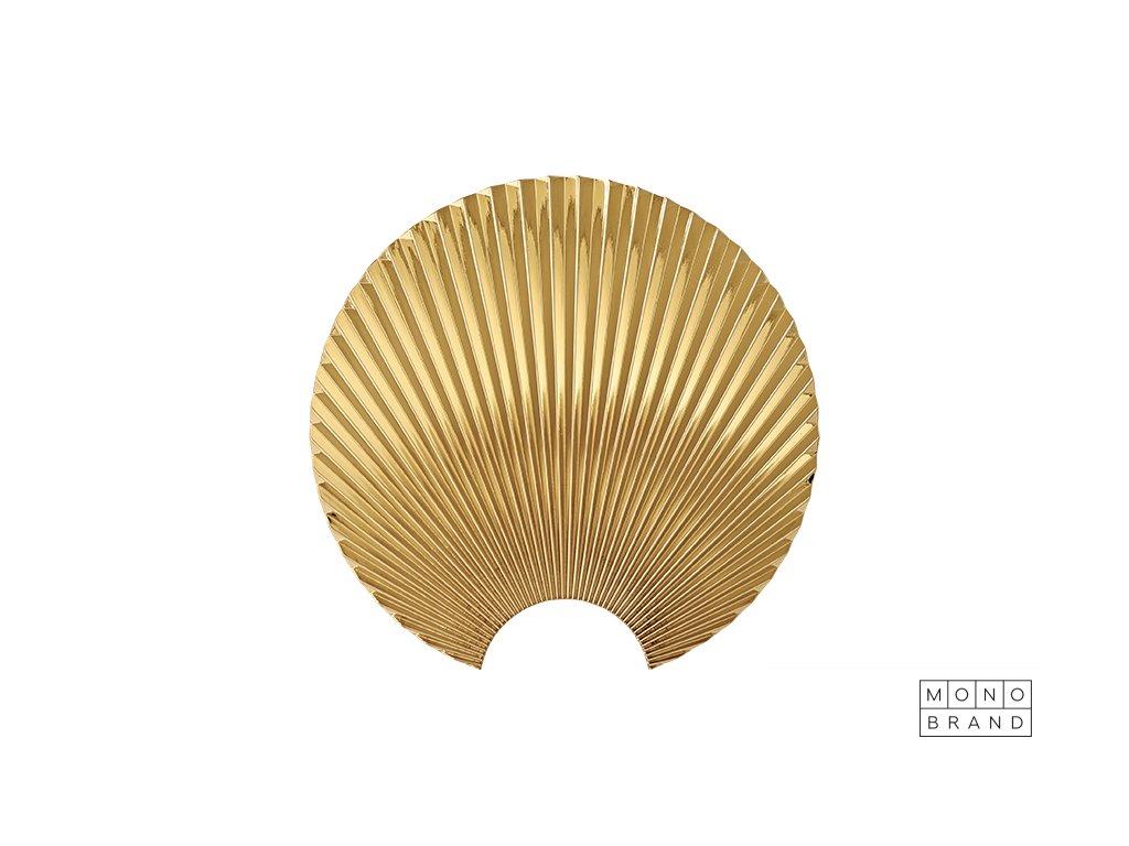 Concha (Barva - varianty Zlatá, Materiályy Kov, Velikostt XL)