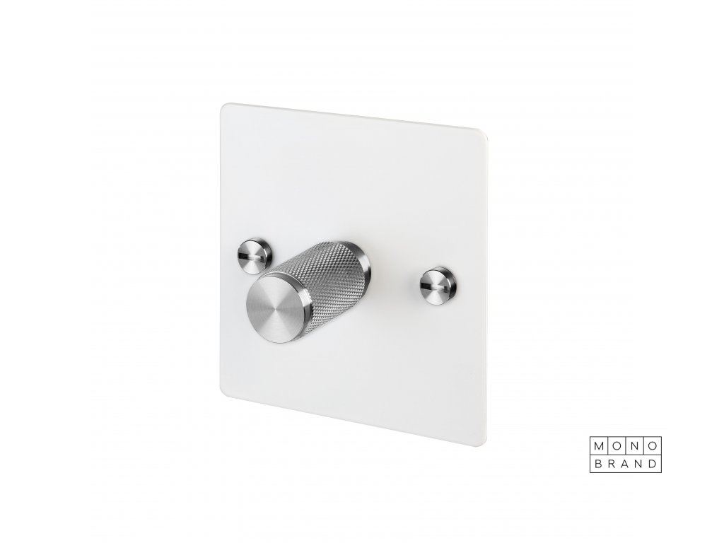 Toggles Dimmers Side Cut Outs 0005s 0000 1G White Steel