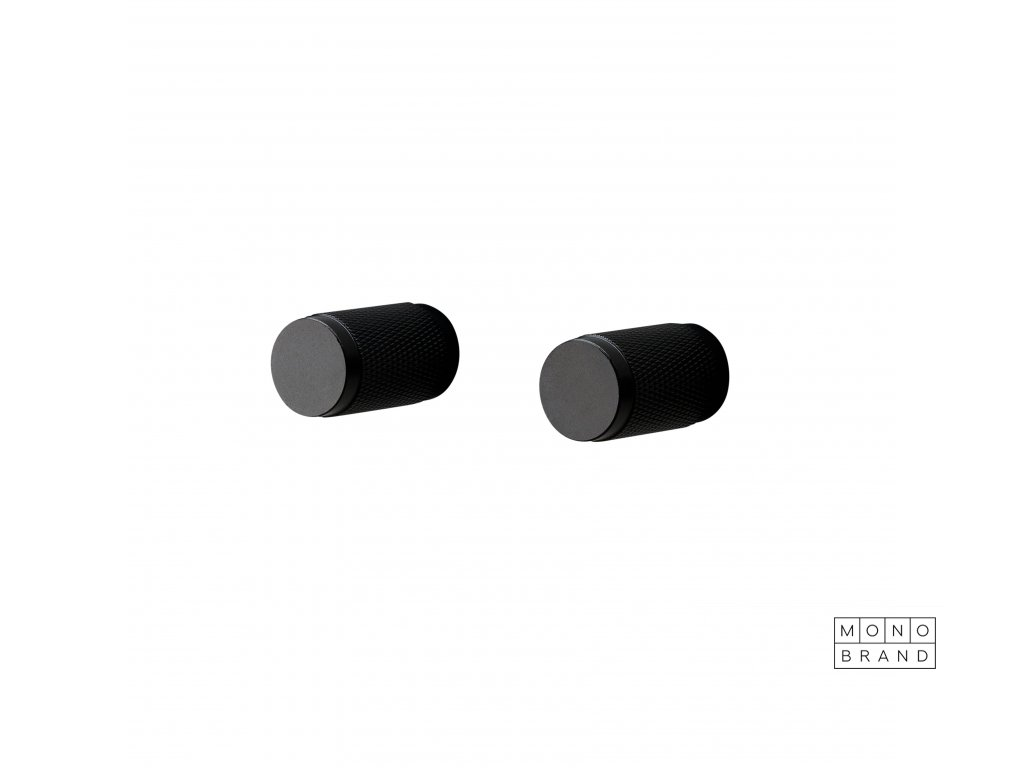 1. Furniture Knob Cross Black Cut out