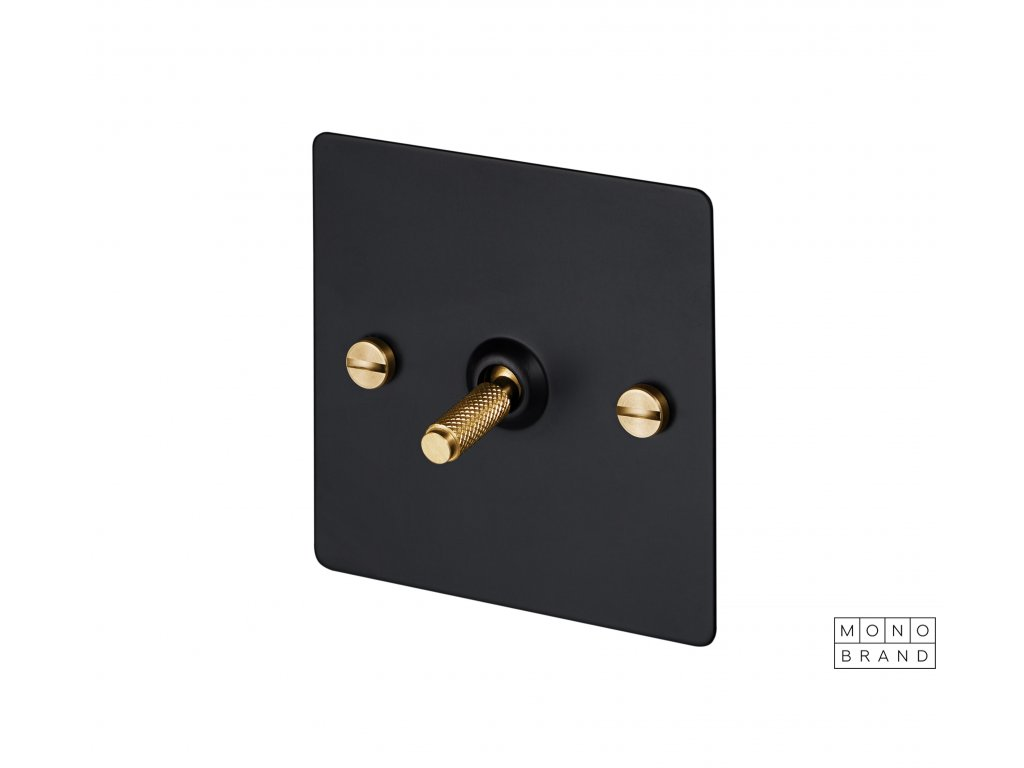 BLACK & BRASS 1S Buster & Punch Cut Out
