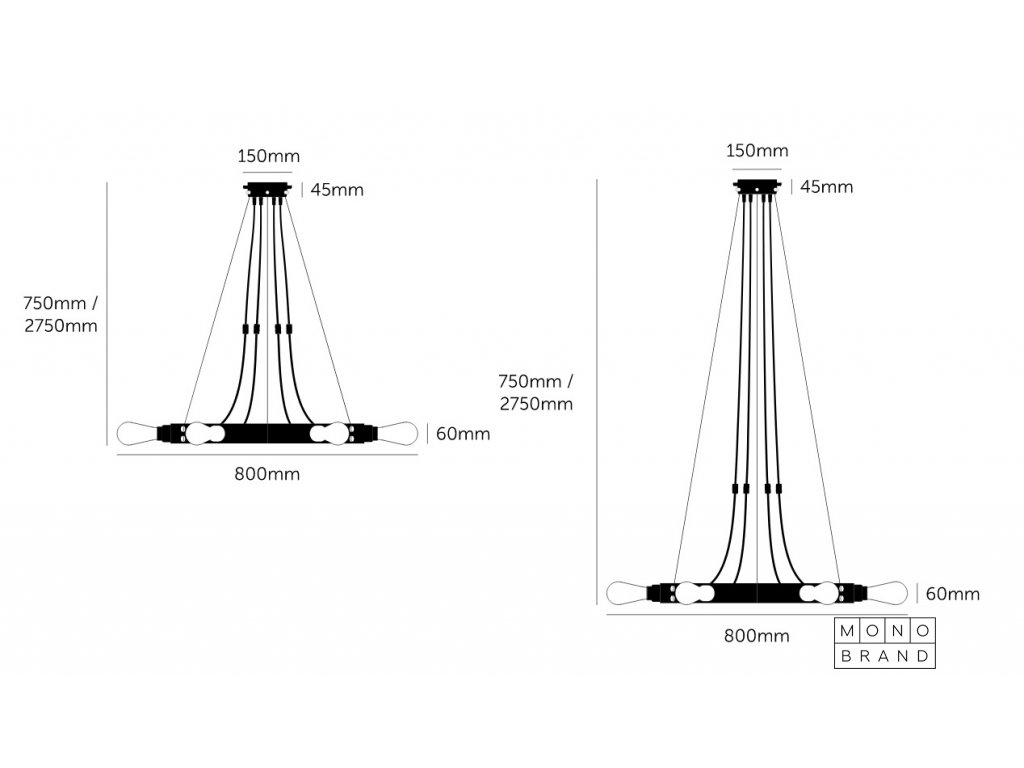 HERO LIGHT / GRAPHITE / BRASS