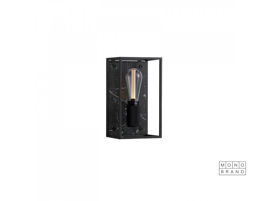 Buster & Punch CAGED wall light 1.0 MEDIUM New Black Marble