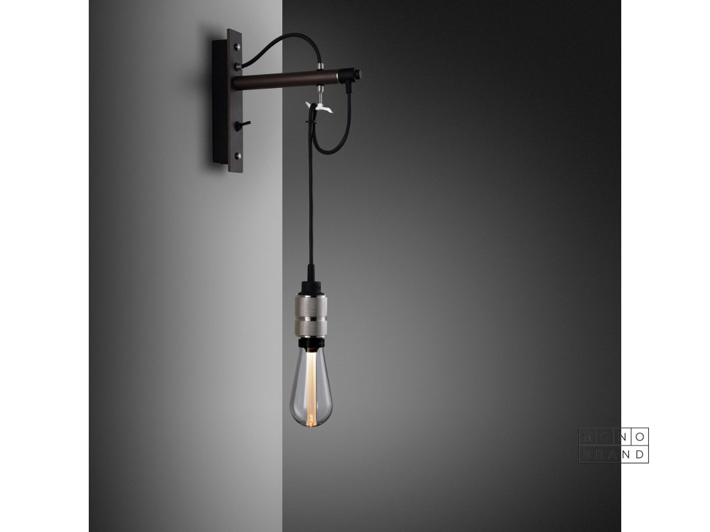 Hooked wall nude graphite brass 01