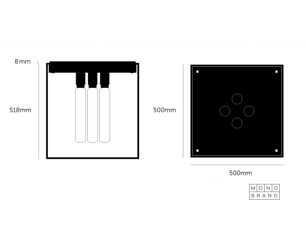 caged ceiling 4.0 black marble web 1