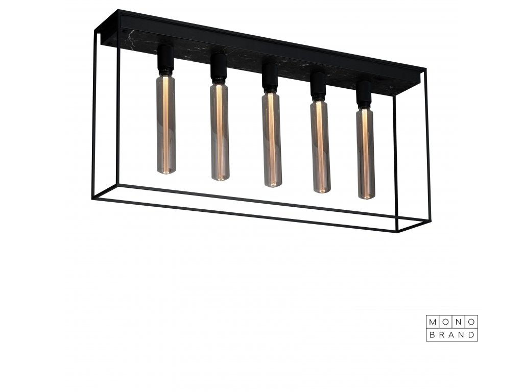 1. Caged Ceiling 5.0 Black Marble cut out