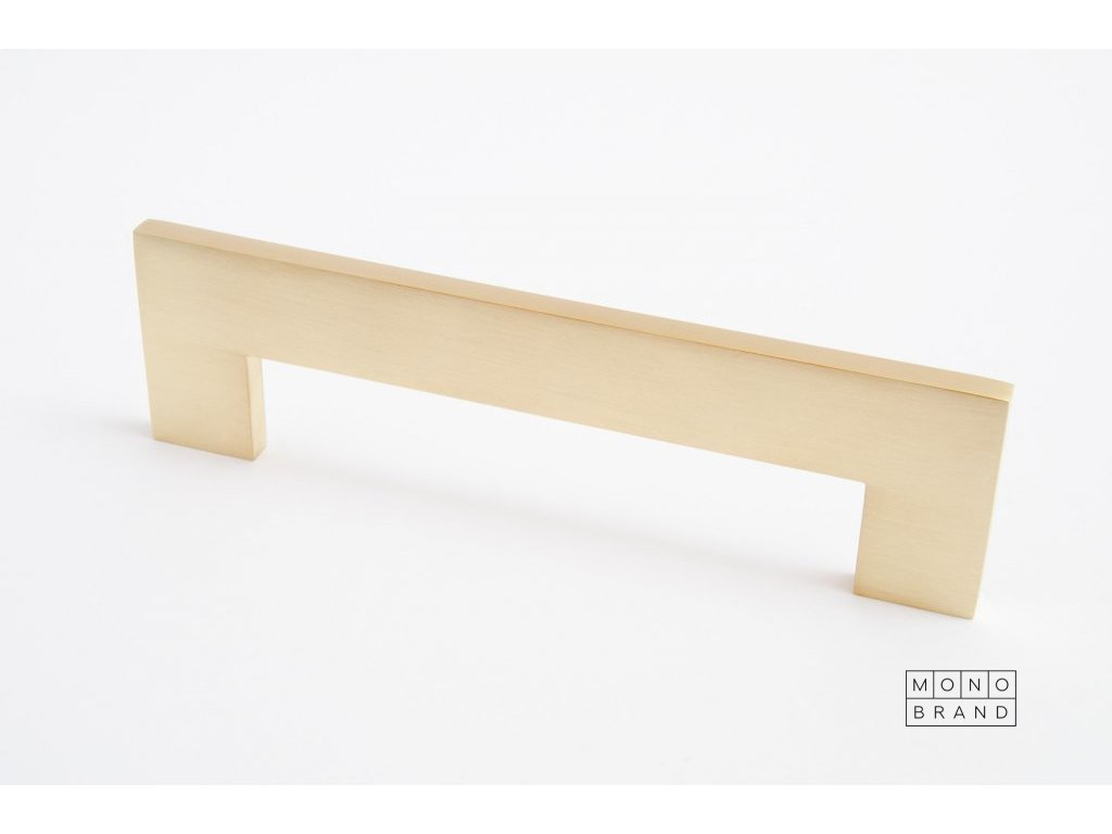 clean cut 148 handle brushed brass