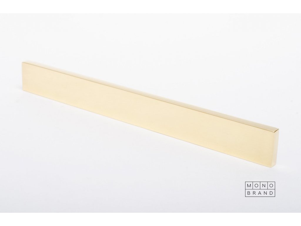 clean cut 180 handle polished brass