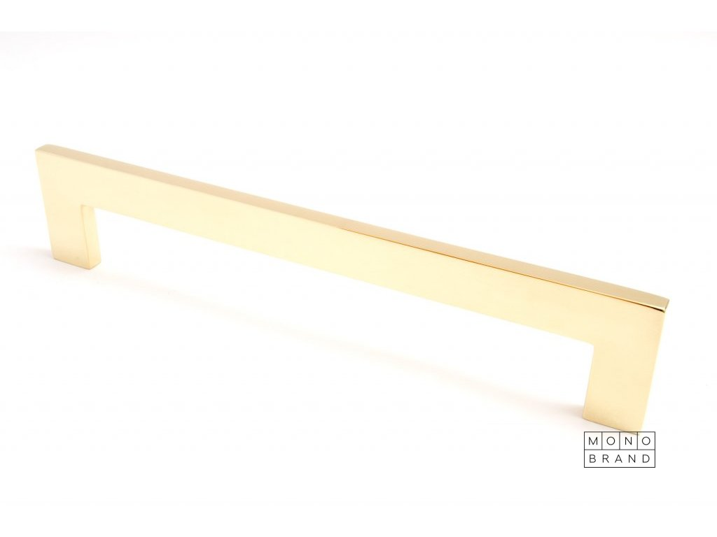 clean cut 244 handle polished brass