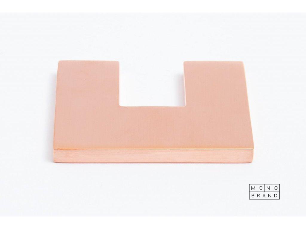 clean cut 60 handle brushed copper
