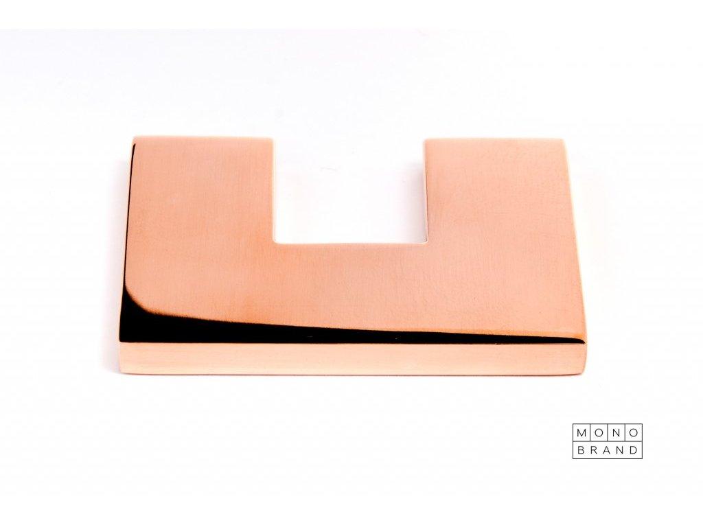 clean cut 60 handle polished copper
