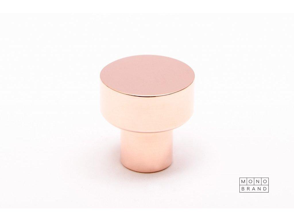 dot 18 polished copper