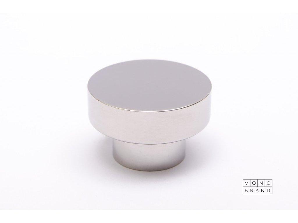 dot 30 knob hook polished stainless steel