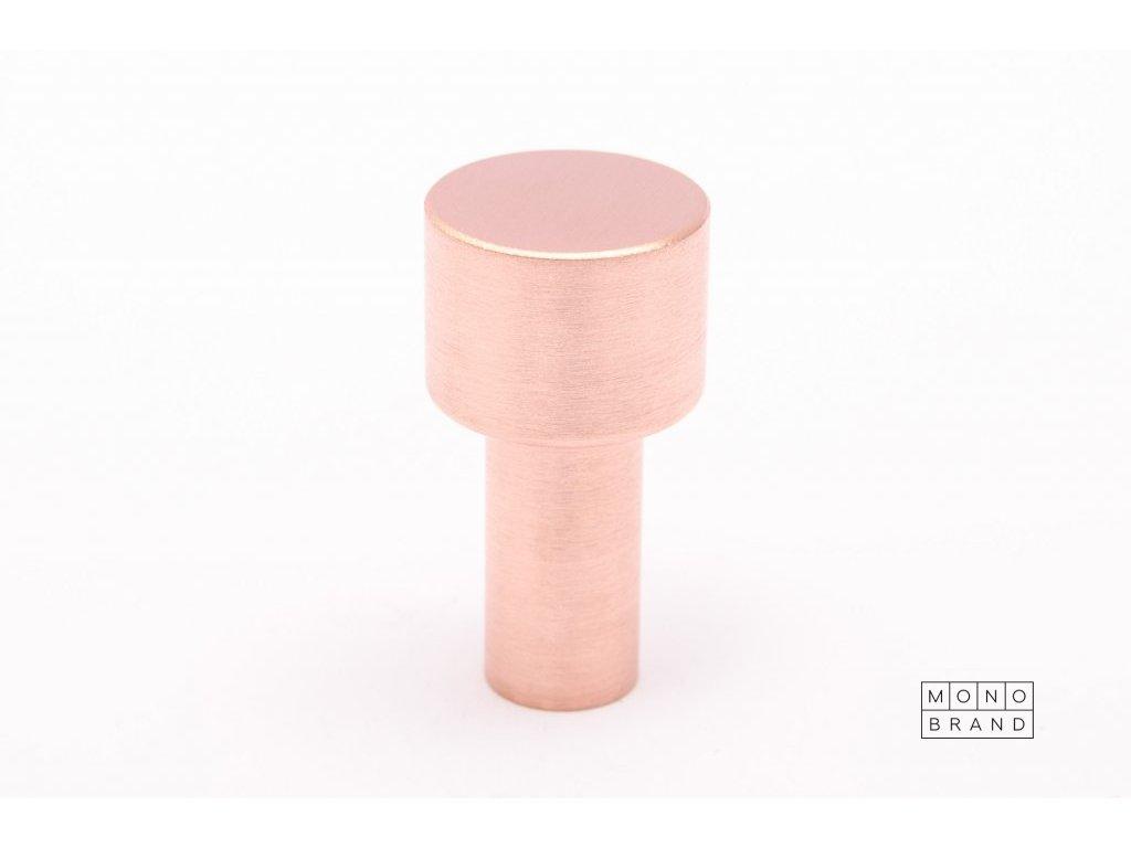 dot 33 hook brushed copper