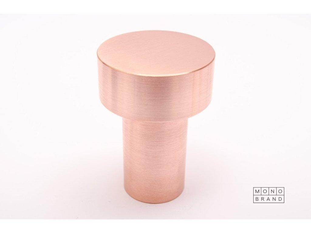 dot 71 hook brushed copper