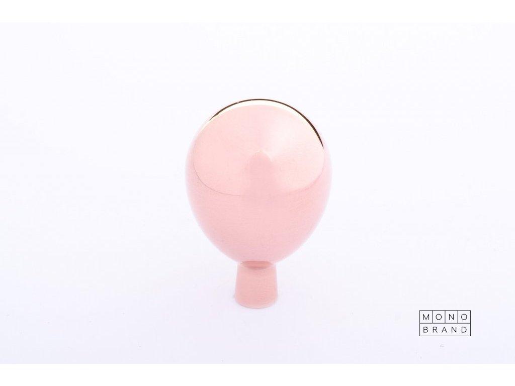 drop 20 knob polished copper
