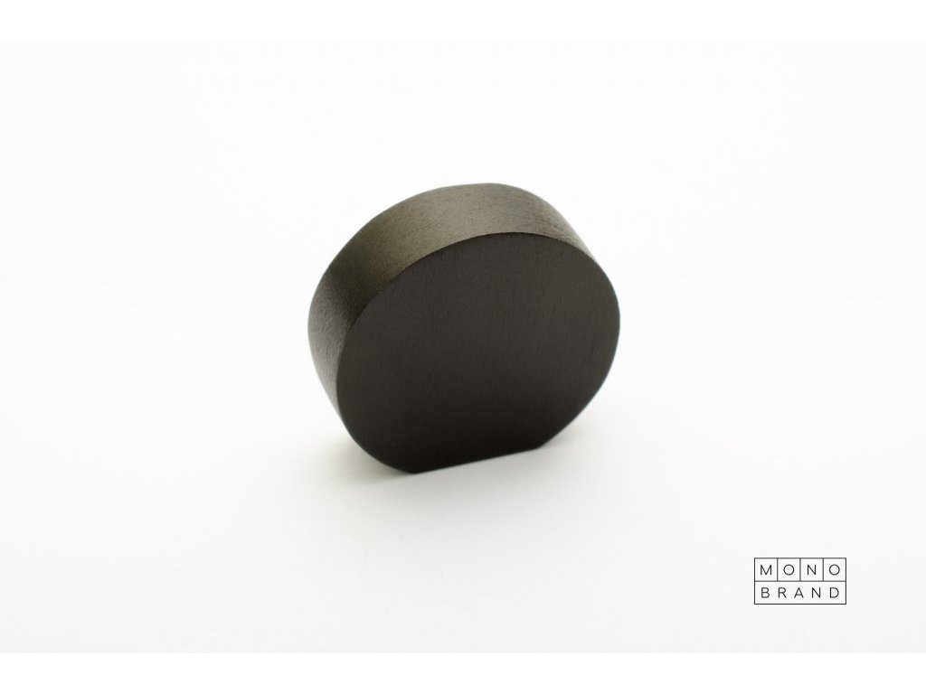 globe 20 knob black aluminium.