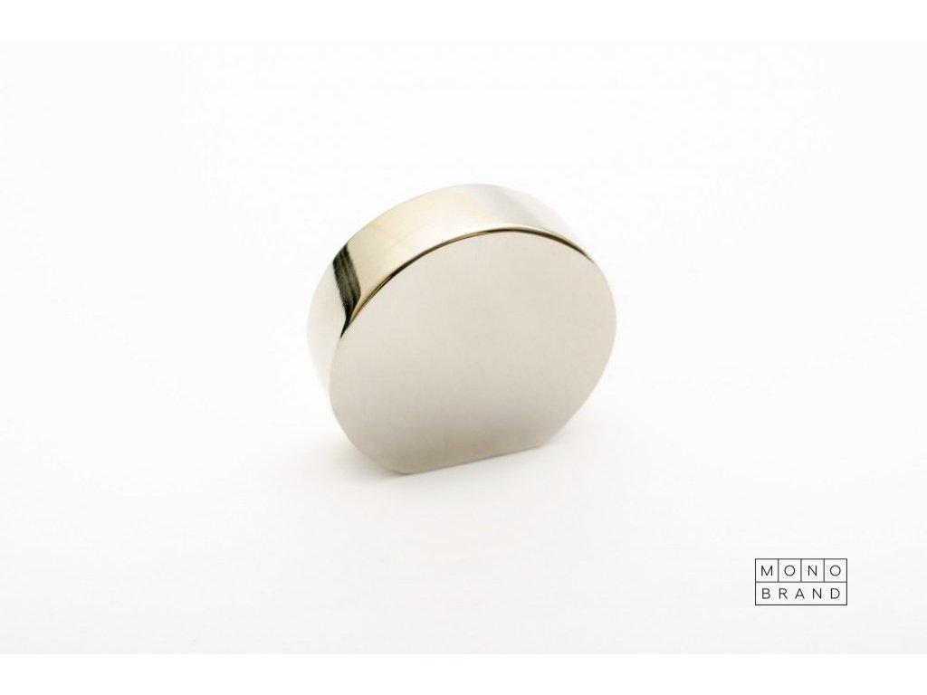 globe 20 knob polished stainless steel