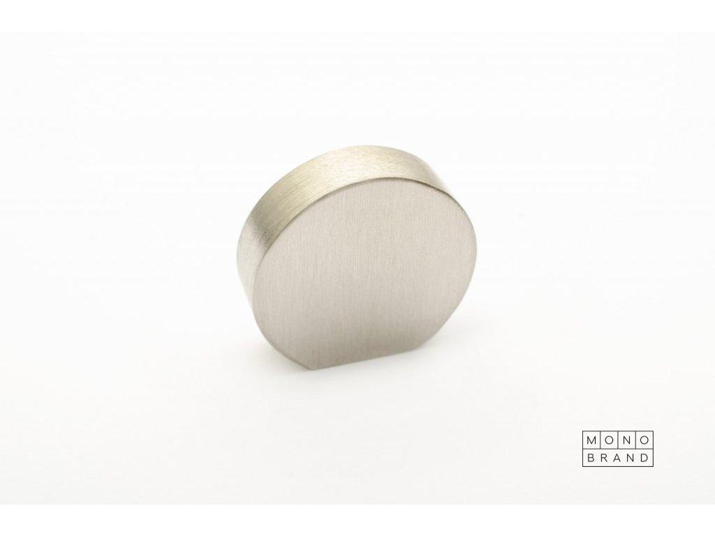 globe 20 knob brushed stainless steel