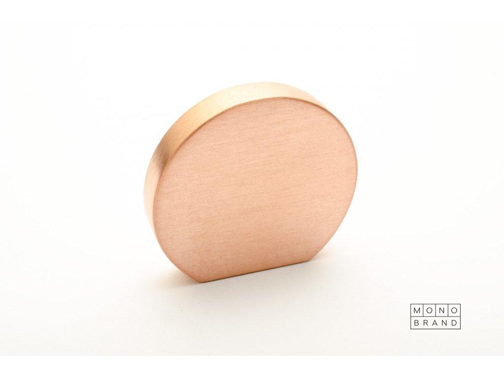 globe 35 knob brushed copper 2