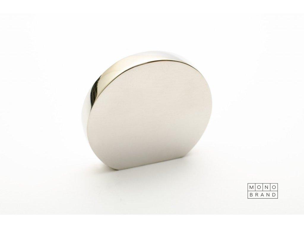 globe 35 knob polished stainless steel
