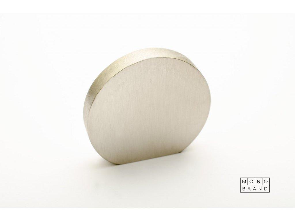 globe 35 knob brushed stainless steel