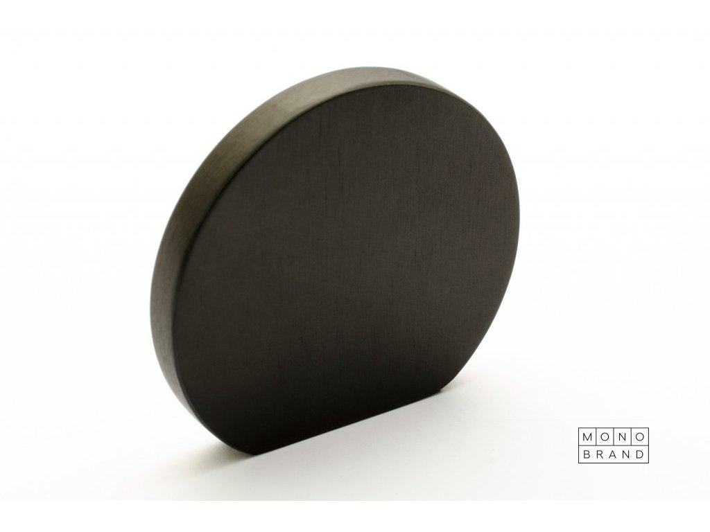 globe 50 knob black aluminium 2