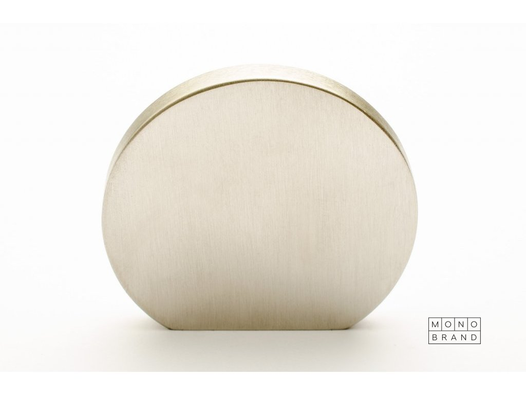 globe 50 knob brushed stainless steel