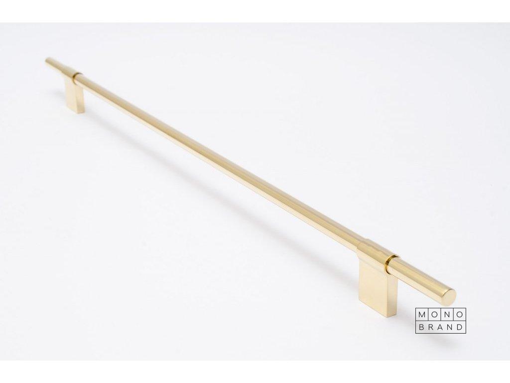 line 432 handle polished brass