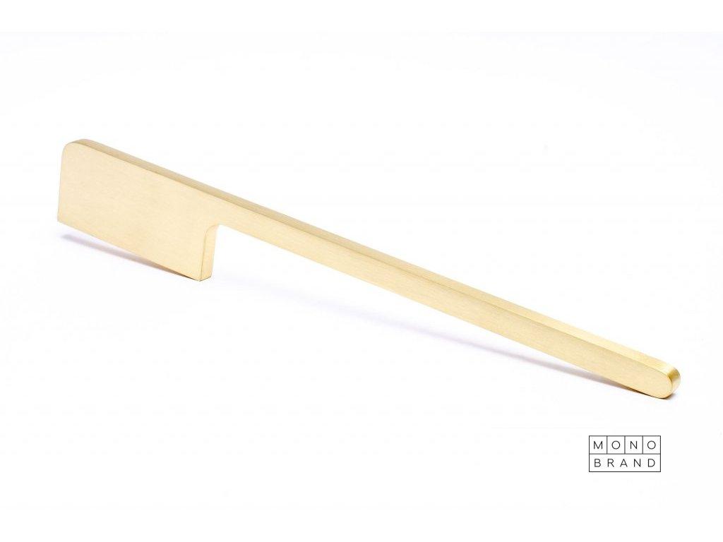 soft cut 300 brushed brass