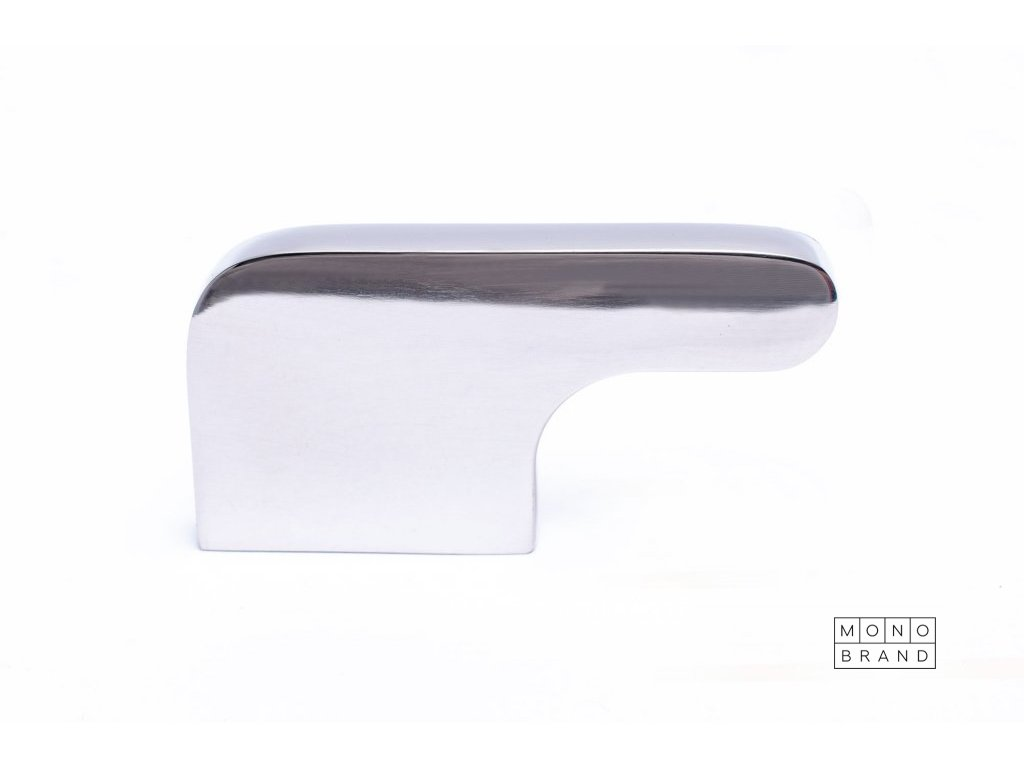soft cut 55 knob polished stainless steel 1
