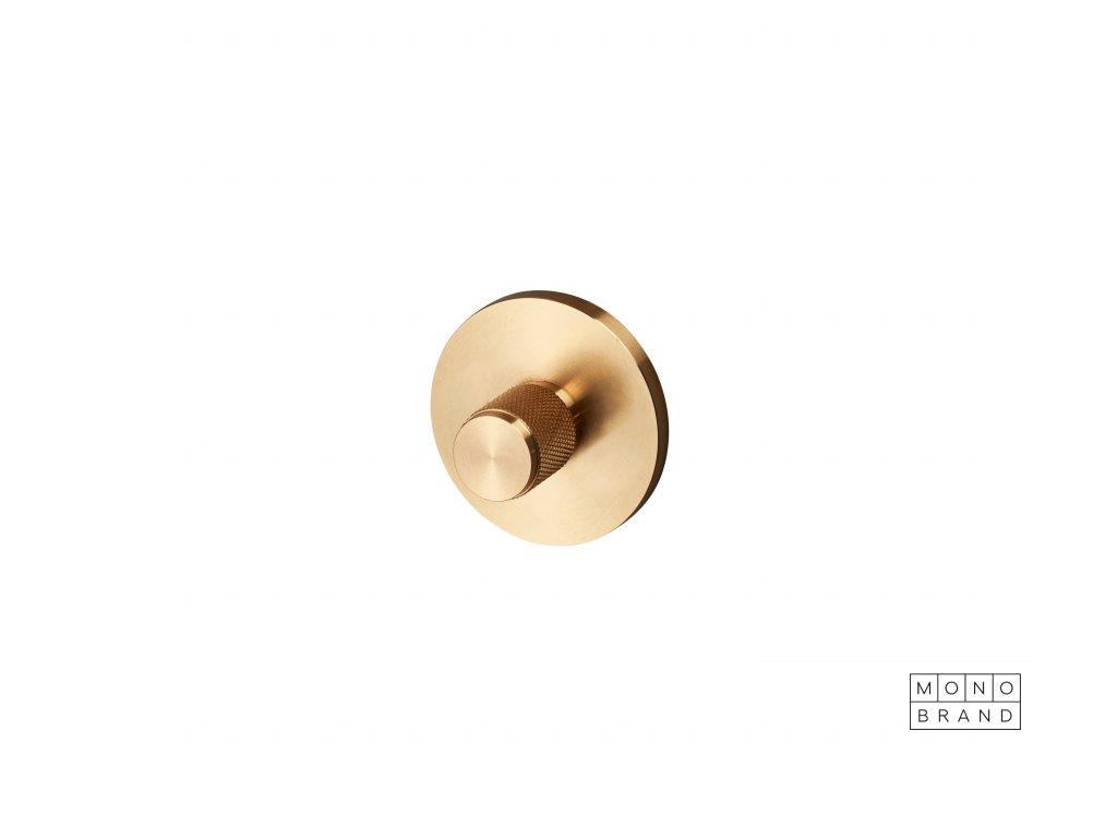 1. Thumbturn lock brass cut out