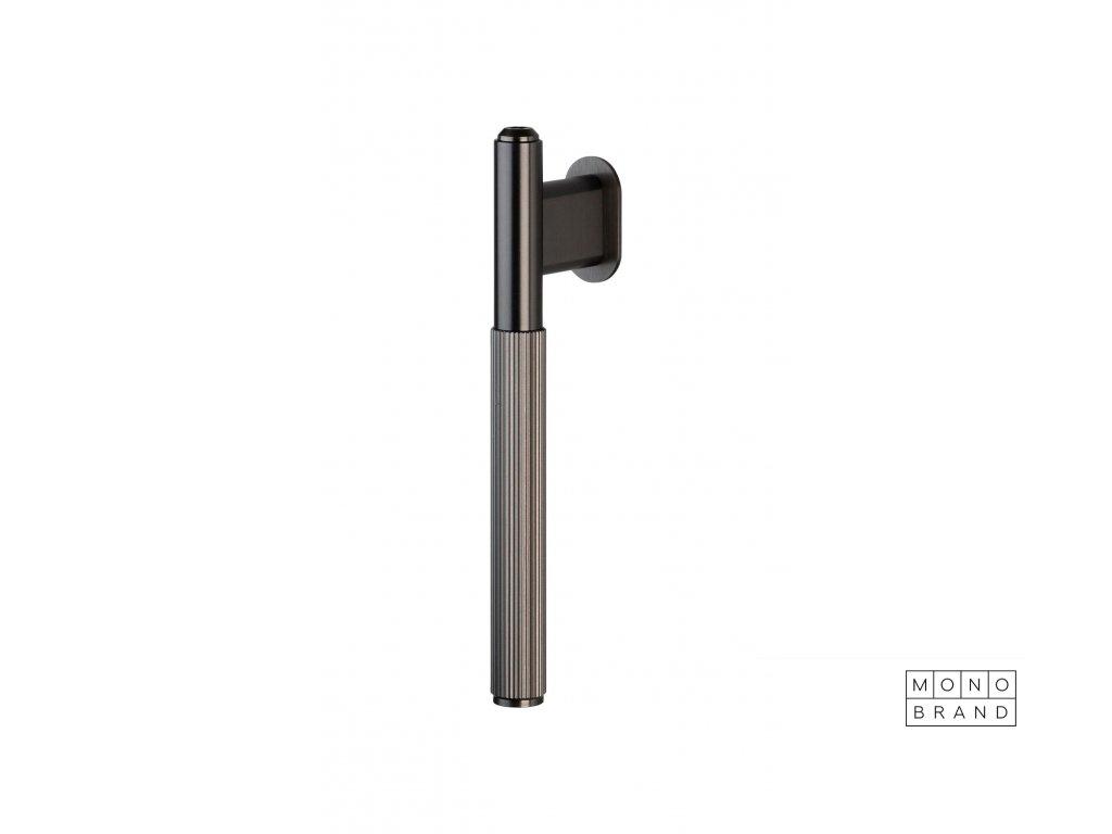 Linear L Bar Single GunMetal