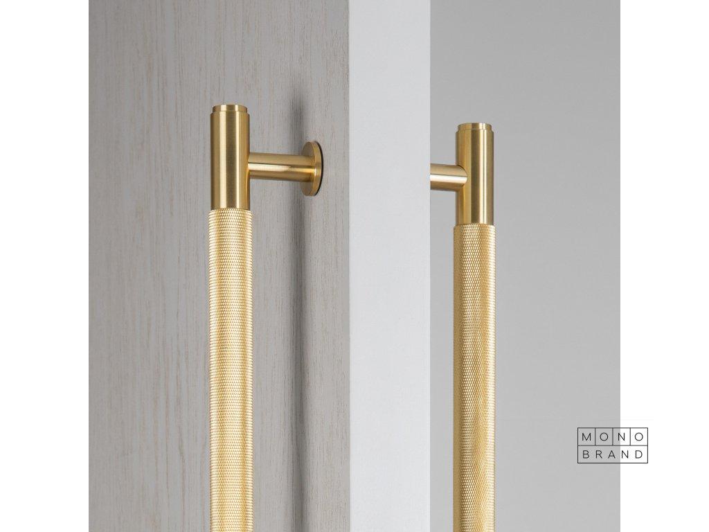 BP Double Sided Closet Bar Brass