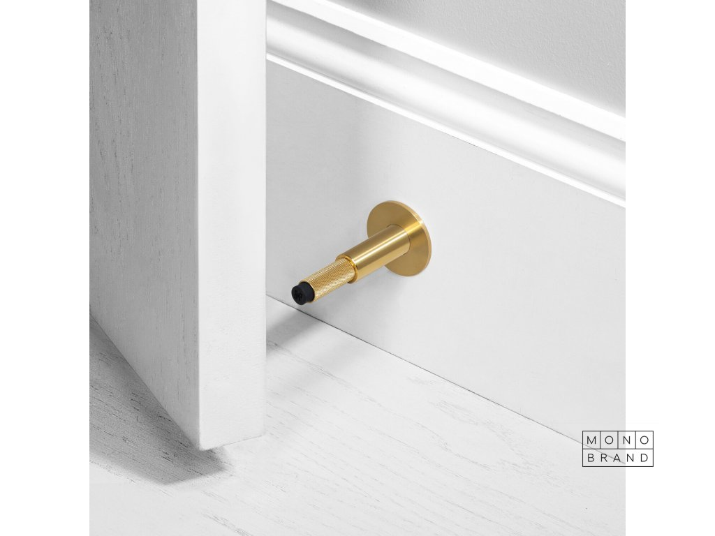 BP Door Stop Mounted Black