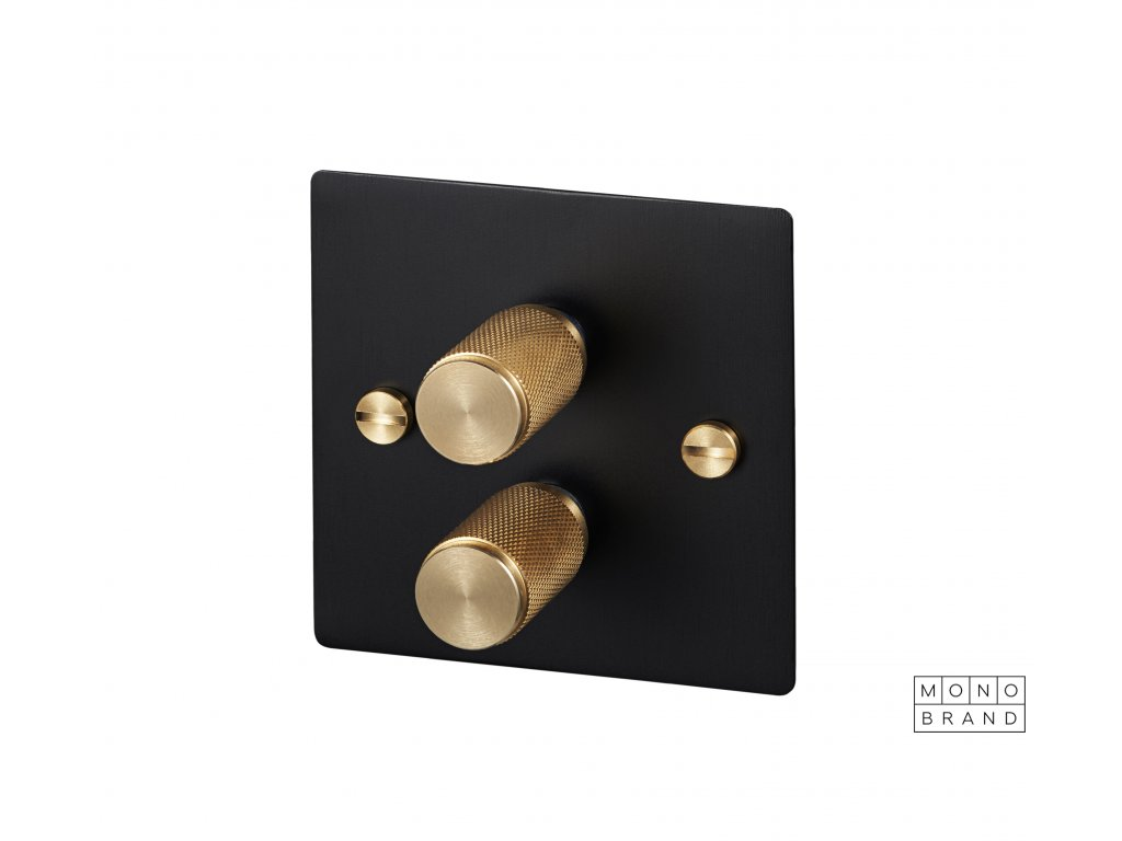BLACK & BRASS 2D Buster & Punch Cut Out