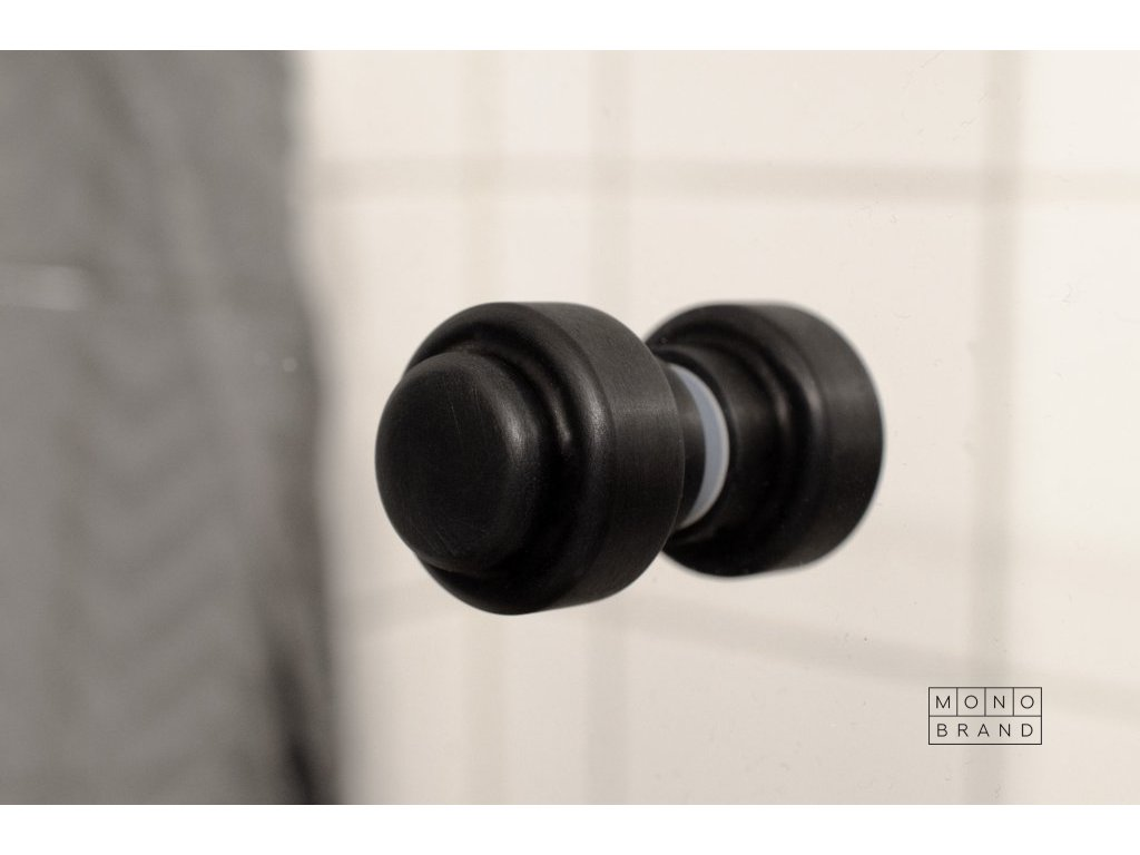 hip glas door knob brushed brass 1