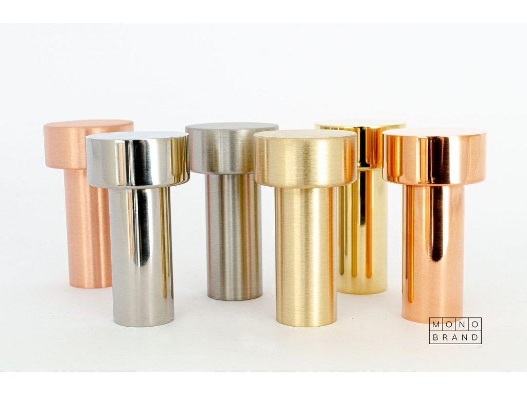 dot 74 hook polished copper