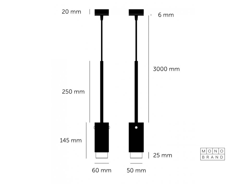 1500x1500 Exhaust CE Pendant Graphite Steel Lit