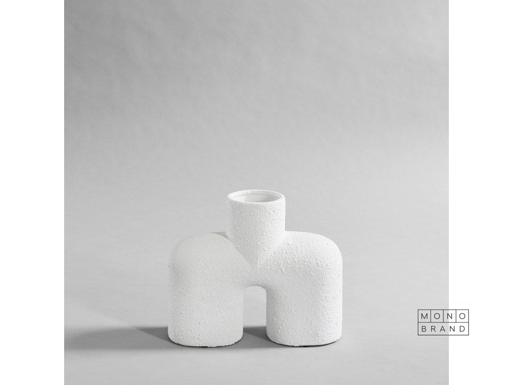 101 Copenhagen Cobra Vase Uno weiss