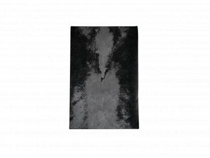 Dark Spine Rug (Barva - varianty Černá, Šedá, Materiályy Vlna, Velikostt S)