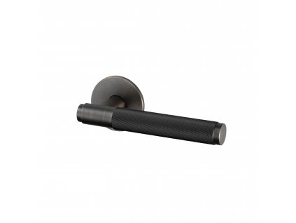 1. Door Handle Right Fixed Smoked Bronze Cut out