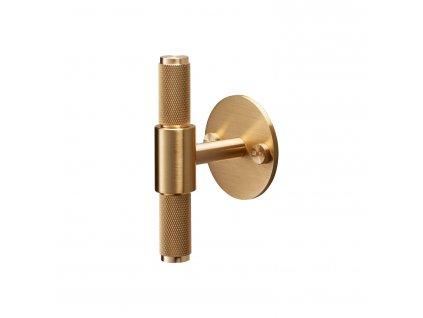 hardware T bar brass cutout