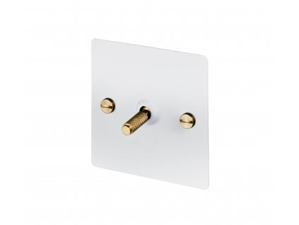 WHITE & BRASS 1S Buster & Punch Cut Out